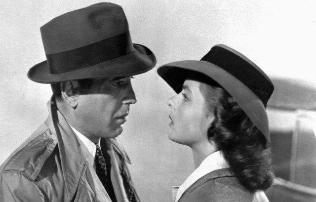 Foto Humphrey Bogart e Ingrid Bergman en Casablanca nos han dejado frases de amor inolvidables