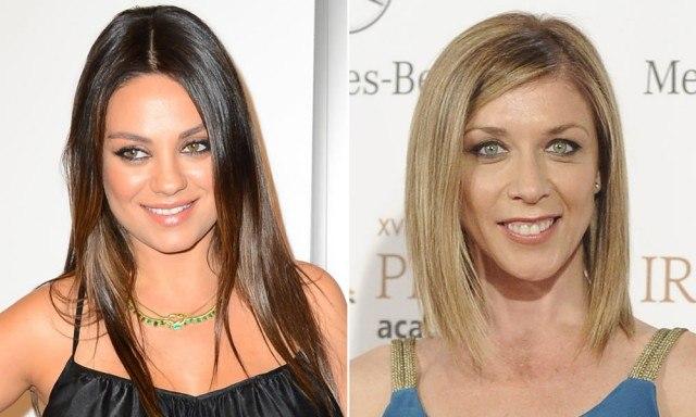 Foto Mila Kunis y Eva Isanta lucen un look liso perfecto, uno de los peinados en tendencia para este verano