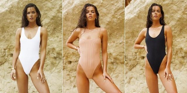 Foto Un buen tejido, un tono neutro liso y un buen patrón, las claves para elegir el bikini o bañador más favorecedor