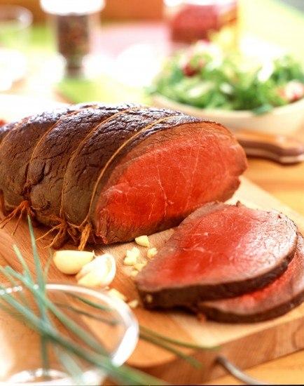 Foto La carne en general es una de las fuentes principales de aporte de hierro de fácil absorción