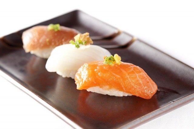 Foto Los nigiris, ideales para un menú japonés bajo en calorías