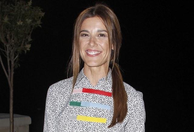 Foto Raquel Sánchez Silva apuesta por la coleta baja o low ponytail con el pelo extra liso
