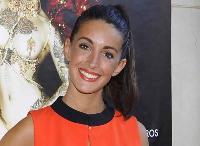 Foto Noelia López apuesta por la coleta alta con el pelo extra liso