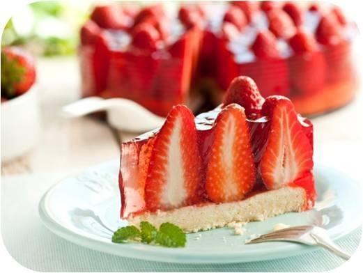 Foto Tarta de fresas
