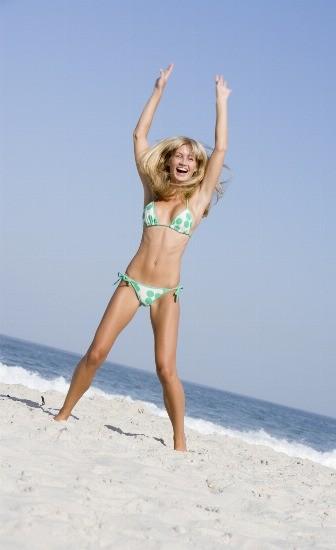 Foto Las personas con asma o dificultades respiratorias encontrarán que es mucho más fácil respirar cuando están en la playa