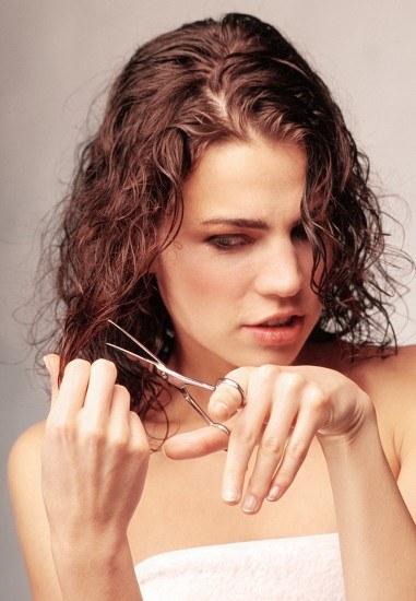 Foto Cortar el pelo hace que crezca antes