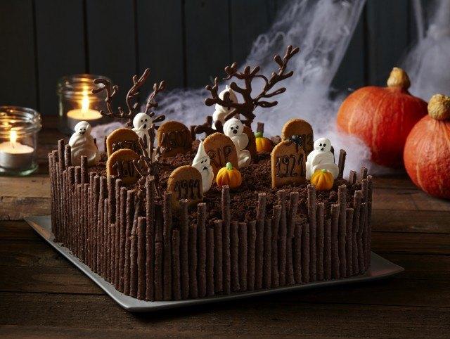 Foto La tarta de Halloween más terrorífica
