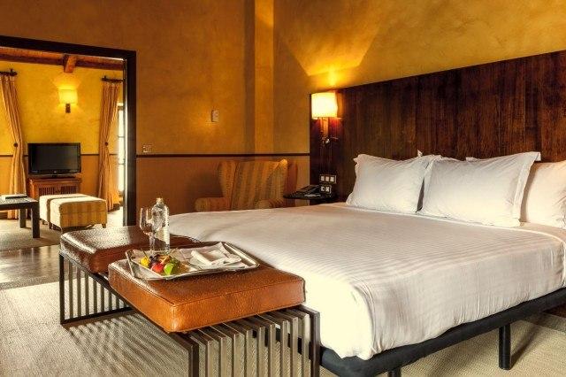 Foto Suite del hotel Palacio del Carmen en Santiago de Compostela