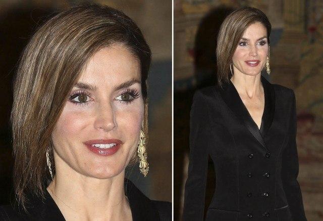 Foto Letizia Ortiz cae en el error de maquillaje más común de las famosas, abusar del iluminador