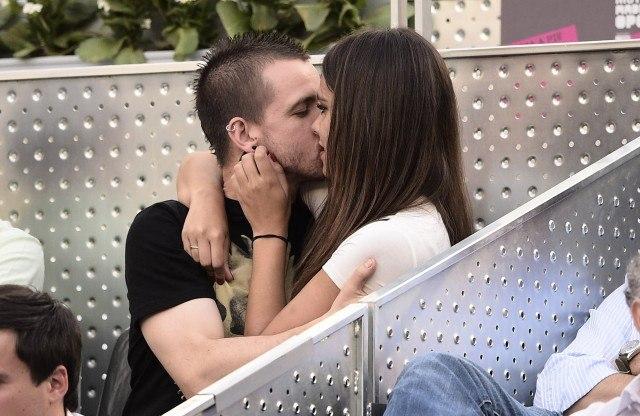 Foto David Muñoz y Cristina Pedroche regalan un beso apasionado en la final del Mutua Madrid Open