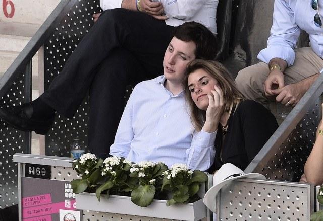 Foto El pequeño Nicolás con su novia, Isabel Mateos, en la final del Mutua Madrid Open