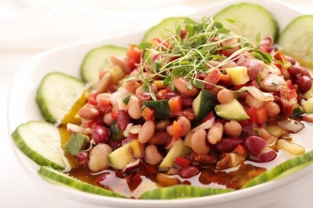 Foto Las ensaladas de legumbres te ayudan a no engordar en verano