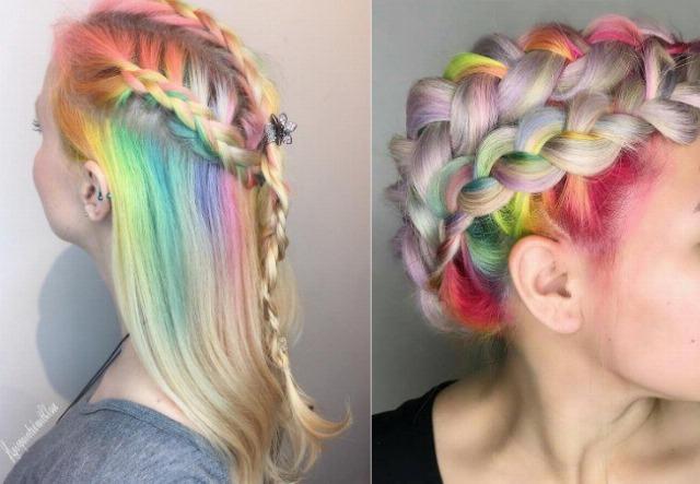 Foto Las Rainbow Roots se coronan como la tendencia en coloración más cool y atrevida