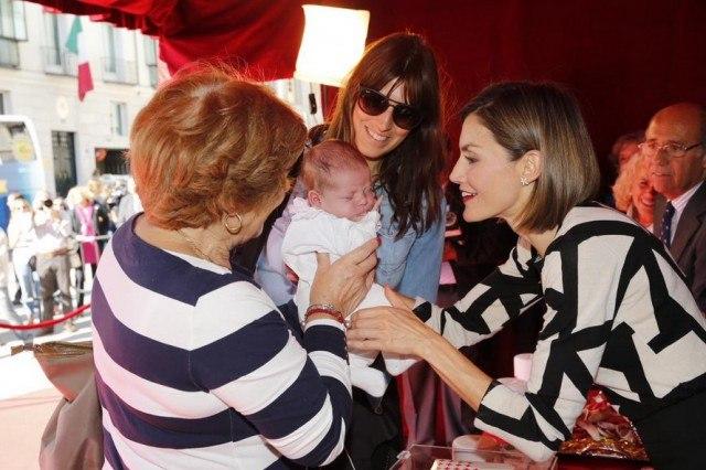 Foto La reina Letizia no cierra la puerta a tener un tercer hijo