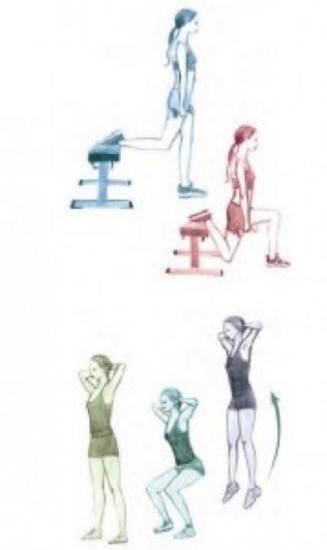 Foto Las sentadillas, el ejercicio más efectivo para evitar la flacidez de los glúteos