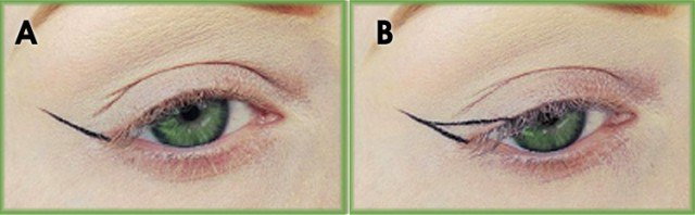 Foto Traza el eyeliner perfecto paso a paso