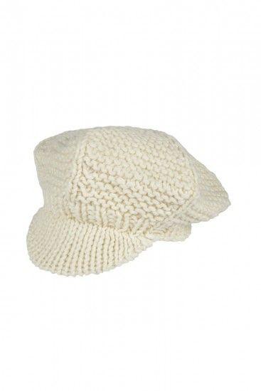 Foto Las boinas tipo visera de lana favorecen a los rostros cuadrados