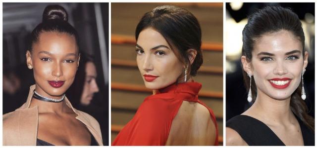 Foto Jasmine Tookes, Sara Sampaio y Lily Aldridge nos inspiran para presumir de peinado en Nochevieja