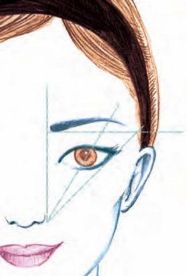 Foto Conseguir una forma de cejas perfecta, clave de un maquillaje seductor