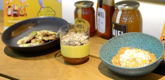 Foto Tres desayunos con miel