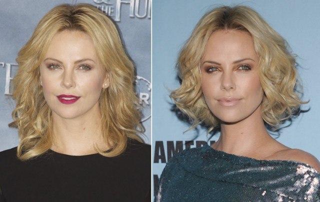 Foto Los rostros ovalados, como el de Charlize Theron, admiten cualquier tipo de corte de pelo