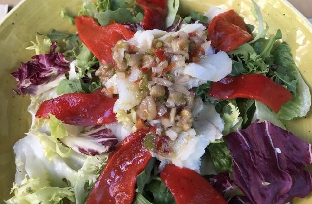 Foto Verduras y ensaladas de primero para no engordar cuando comes fuera