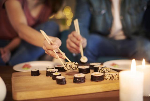 Foto Consejos para no engordar si comes en un restaurante japonés