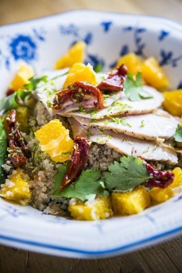 Foto La ensalada perfecta debe tener vegetales y hortalizas, proteína, algo crujiente y un extra