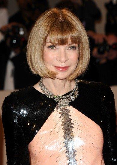 Foto Anna Wintour, incondicional del carré, el peinado más trendy de la temporada