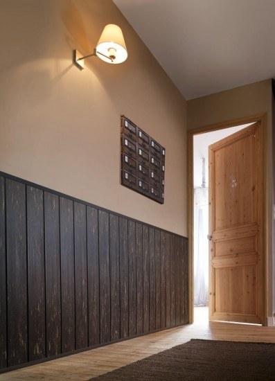 Los revestimientos de paredes de pvc perfectos para for Colores pasillos interiores