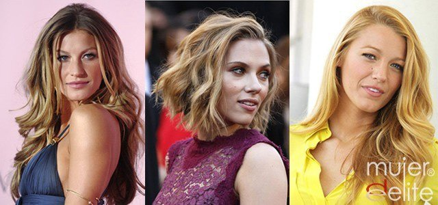 Foto Gisele Bündchen, Scarlett Johansson y Blake Lively, mujeres doradas