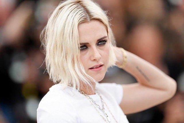 Foto Kristen Stewart sorprendió con su cambio de look, convirtiéndose en rubia platino