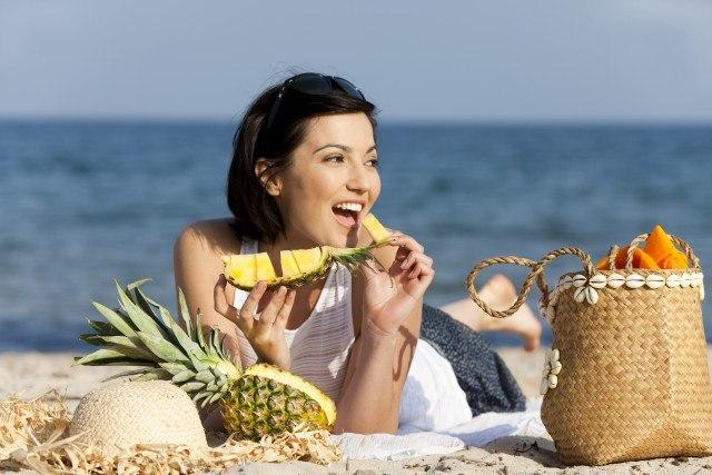 Foto Los alimentos con un alto nivel de agua, indispensables en la dieta playera