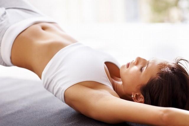 Foto Tabla de entrenamiento para un vientre plano