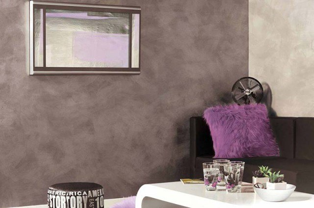 Decora tus paredes descubre cmo pintar con efectos - Pintura decorativa paredes ...