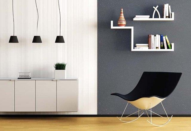 Foto Personaliza y haz brillar tus paredes con la pintura paillet o de puntos brillantes
