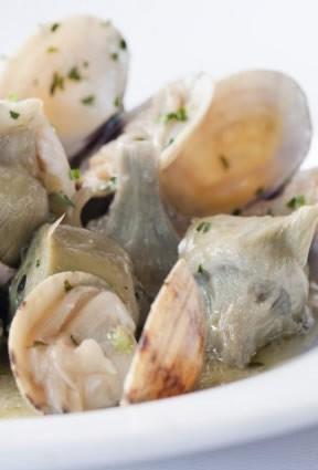 Foto Los productos del mar y las alcachofas, una combinación de alimentos ideal en la menopausia