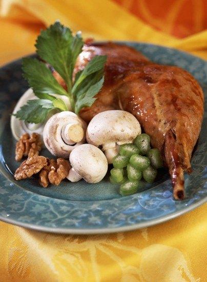 Foto El pavo y las setas, alimentos poco calóricos y ricos en nutrientes para no engordar en Navidad
