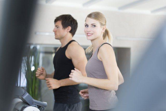 Foto Apúntate al gimnasio preferiblemente con una amiga o con tu pareja