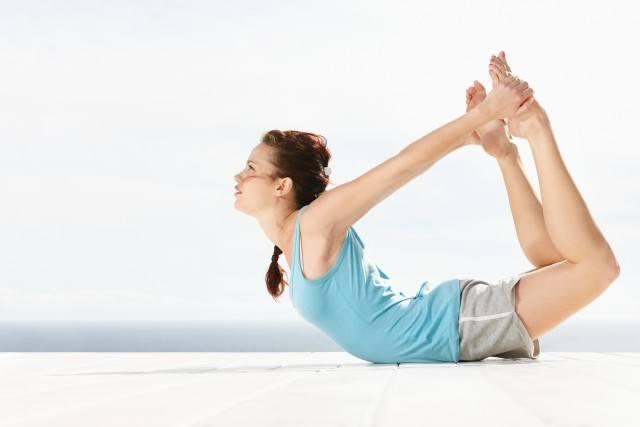 Foto Posturas de yoga para eliminar toxinas