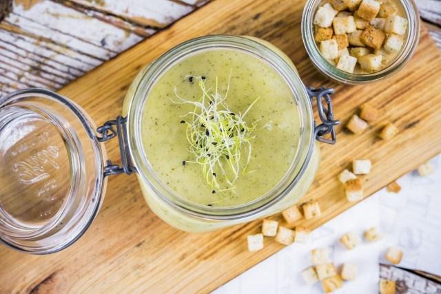 Foto La crema de espárragos, rica en fibra, depurativa e ideal para regular el apetito