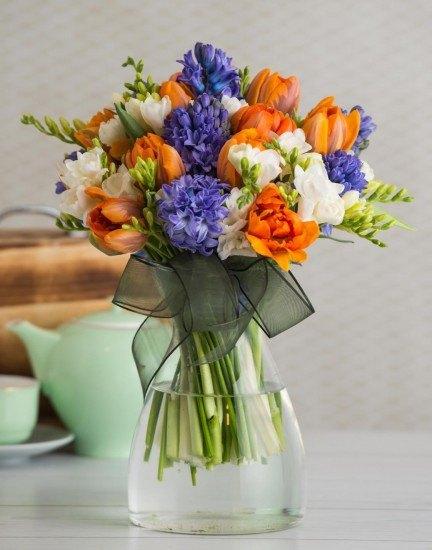 Foto Las flores naranjas calman los nervios, renuevan la ilusión, aportan bienestar y buen humor