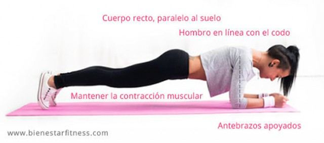 Foto La plancha, el ejercicio más completo y exigente para conseguir un vientre plano y un abdomen tonificado