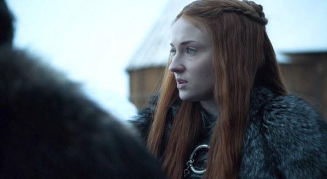 Foto Consigue las minitrenzas en semirecogido de Sansa en Juego de Tronos