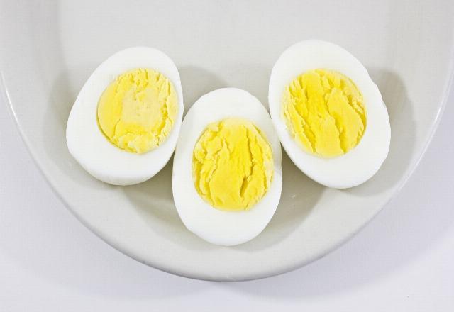 Foto Huevos duros, cocidos