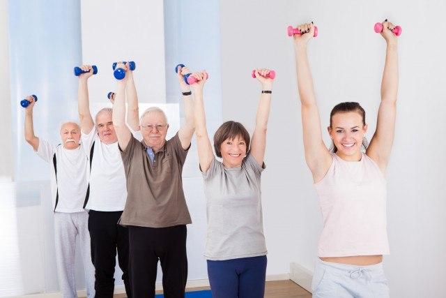 Foto El porcentaje de grasa aumenta con la edad y nunca es tarde para comenzar a hacer ejercicio