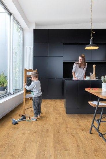 Foto Los suelos de vinilo, perfectos para hogares con niños
