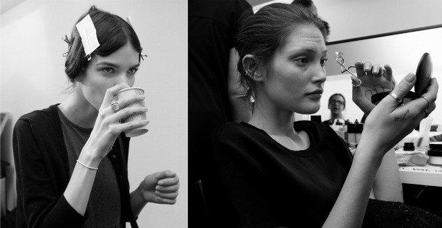 Foto Una modelo profesional debe seguir una dieta equilibrada y tener nociones de peluquería y maquillaje