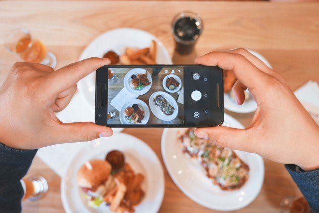 Foto Fotos de comida, garantía de éxito en Instagram