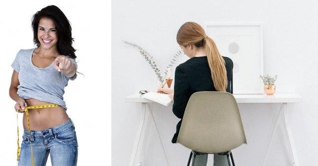 Foto Los ejercicios más fáciles y discretos para adelgazar y tonificar todo tu cuerpo ¡en la oficina!